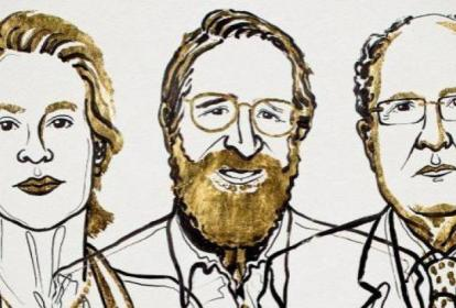 Frances H. Arnold, George Smith y Gregory P. Winter, ganadores del Nobel de Química este año.