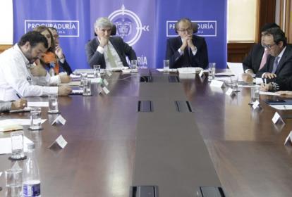 Reunión Ministerio de Salud, SuperSalud y Procuraduría.