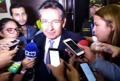 El fiscal Martínez confirmó las capturas.