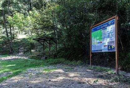 Quebrada La Vieja.