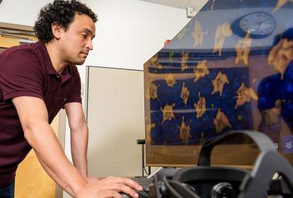 Hace más de diez años Juan Perilla llegó a Estados Unidos a realizar sus estudios e investigaciones.