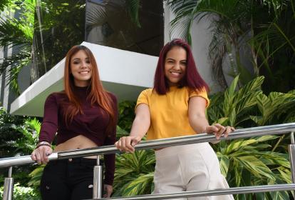 Tany y Jeimy Lallemand visitaron EL HERALDO para invitar a los talentos de la ciudad a participar en el Festival Barranquilla.