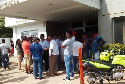 Las víctimas fueron trasladadas a la urgencia de una clínica en El Banco.