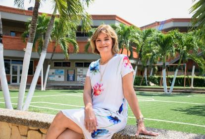 Priscilla Ruiz, rectora del colegio Altamira.