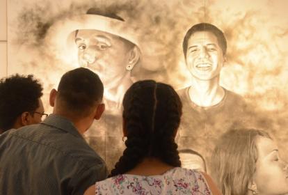 Muestra artística de los estudiantes de la EDA.