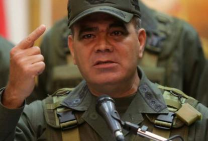 General Vladimir Padrino, ministro de Defensa venezolano.