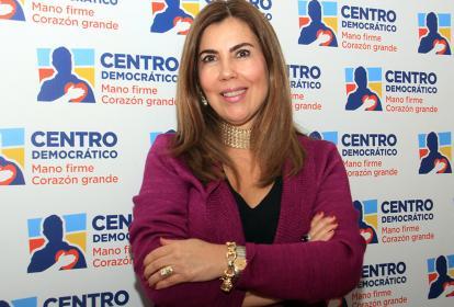 Nubia Stella Martínez, directora del Centro Democrático.