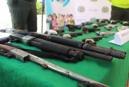 La Policía ha logrado desmantelar varios negocios dedicados al alquiler de armas mediante allanamientos.