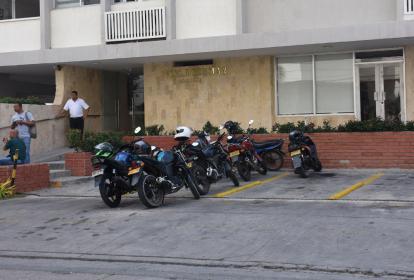Edificio donde se registró el robo.