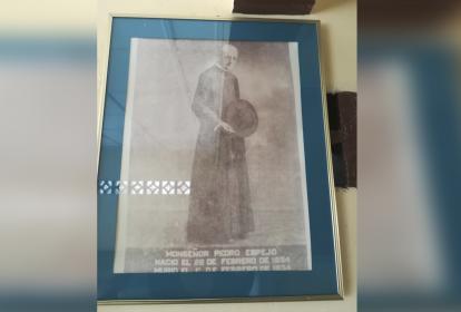 Monseñor Pedro Espejo nació el 22 de febrero de 1954.