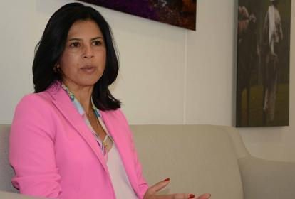 Gloria Alonso, directora del Departamento Nacional de Planeación, DNP.