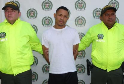 Andrés Javier Ospino Solís, capturado.