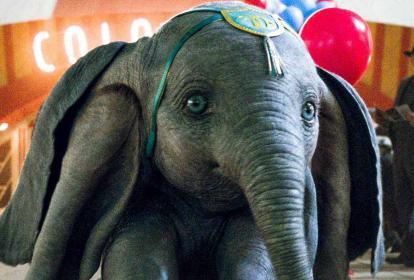 Dumbo, el elefante que puede volar.