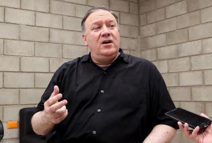 Mike Pompeo, secretario de Estado de Estados Unidos.