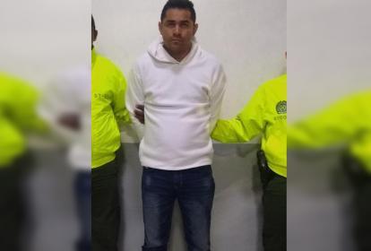 Johan Sabid Niebles Torres, alias Machete, fue capturado por la Sijín de la Policía.