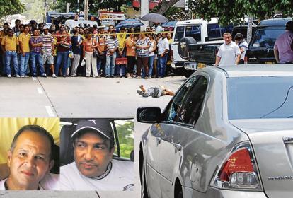 Un parrillero en una moto se le acercó al joven y le disparó en dos oportunidades, luego lo persiguió y lo remató. La Fiscalía investiga a Beto Zabaleta y el fallecido 'Ñeñe' Hernández por el hecho.