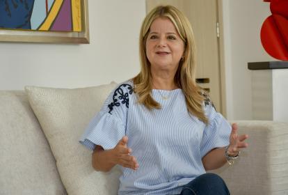 Elsa Noguera, ex alcaldesa de Barranquilla y ex ministra de Vivienda.