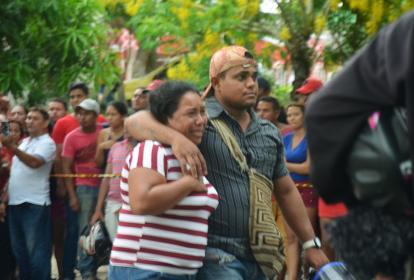 Familiares protagonizaron escenas de dolor.