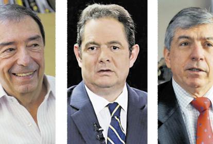 Fuad Char, Germán Vargas y César Gaviria