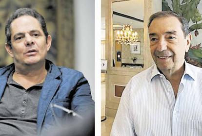 Germán Vargas Lleras y Fuad Char Abdala.