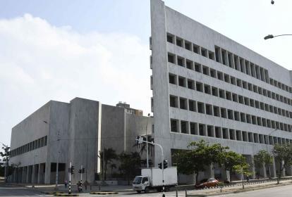 Sede del Banco de la República, ubicado en la esquina de la calle Murillo con carera 45, en Barranquilla.