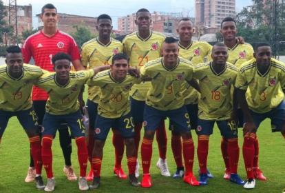 Selección Colombia Sub-20.