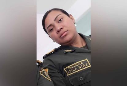 Erika Patricia Díaz Fandiño, victima.