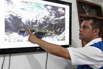 José Radith Zuñiga, coordinador del Sistema de Alerta Temprana, SAT.