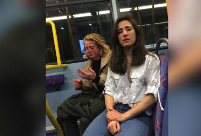 El hecho ocurrió en un autobús en Londres