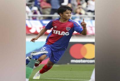 """""""No me gusta que me comparen con Messi, aunque algún día espero se capaz de jugar como lo hace él"""", asegura Takefusa Kubo, de 18 años."""