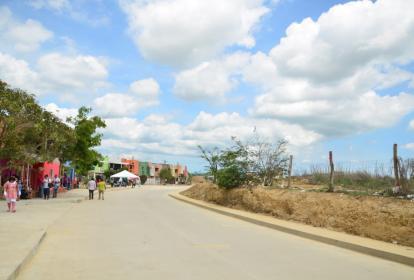 Vía de Los Almendros segunda etapa que fue abierta la semana pasada.