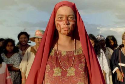 La actriz Natalia Reyes interpreta el papel de Zaida en la película 'Pájaros de Verano'.