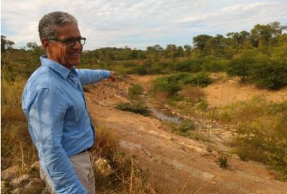 """""""El cauce del arroyo ha mostrado un comportamiento acorde a su diseño"""", asegura el presidente de Cerrejón, Guillermo Fonseca."""