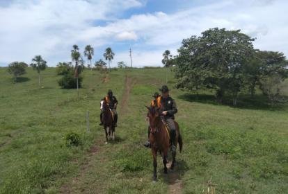 La Policía de Carabineros y el Ejército hacen presencia en el sur del departamento de Córdoba.