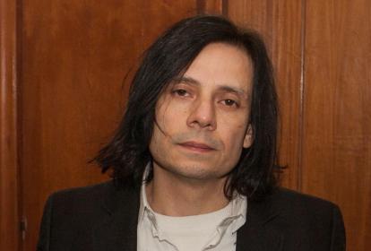 Cristian Aldana, líder del grupo de rock El Otro Yo.
