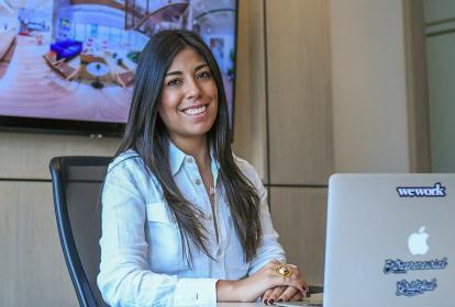 La directora de WeWork, Karen Scarpetta.