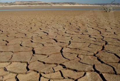 Suelo en sequía.