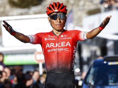 Pigmento Gorrión Aprendiz  Nairo Quintana sugiere hacer carreras para garantizar continuidad del  ciclismo | El Heraldo