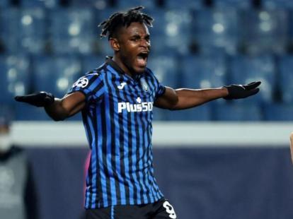 Duván Zapata sigue anotando en Champions League | EL UNIVERSAL - Cartagena