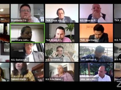 El Gobierno es citado a control político por revelaciones del caso Santrich