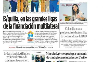 Barranquilla, en las grandes ligas de la financiación multilateral