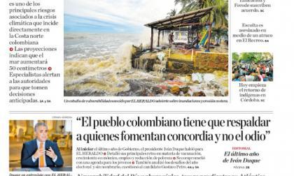 Emergencia climática amenaza con desaparecer la zona costera
