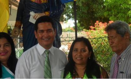 Inauguran biblioteca 'Orlando Fals Borda' en la Institución Educativa Simón Bolívar
