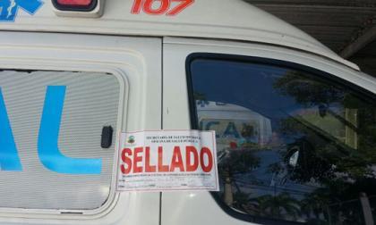 Secretaría de Salud inmoviliza otras 11 ambulancias