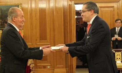 El presidente de Colombia será recibido por el rey de España el 22 de enero