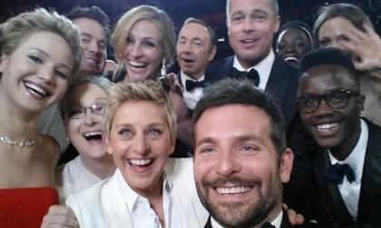 """El famoso """"selfie"""" de los Oscar roza un valor de 1.000 millones de dólares"""