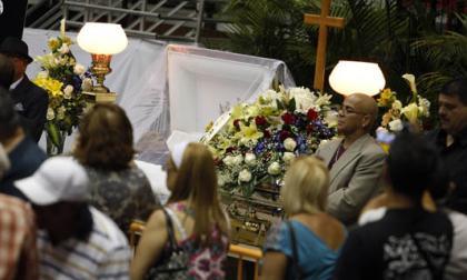 Los restos del salsero Cheo Feliciano ya reposan en su natal Ponce