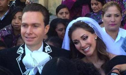 La cantante mexicana Anahí y el gobernador de Chiapas se casan