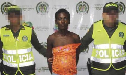 Surleidis Blanco Durán es la mujer capturada por la Policía.