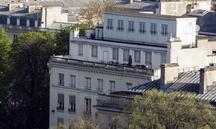 La azotea de la embajada de EE.UU. en París oculta una estación de espionaje